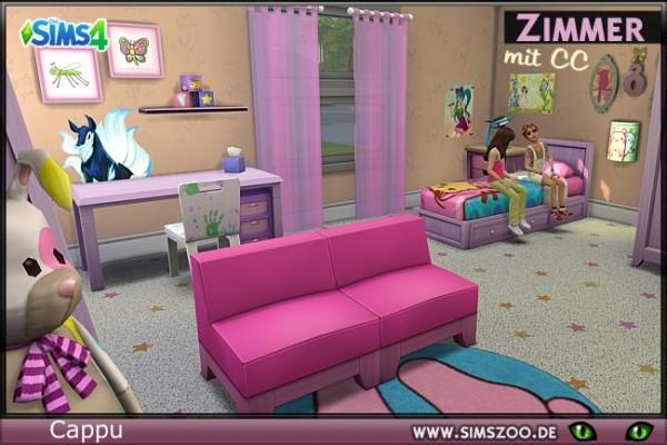 Blackys Sims 4 Zoo: Sophia room by Cappu