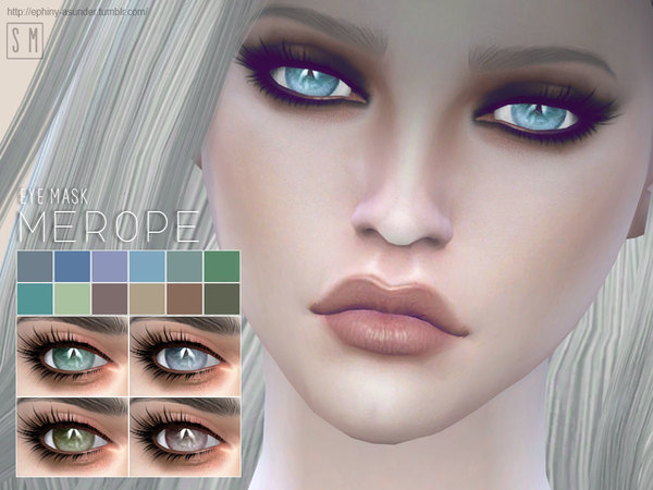 The Sims Resource: Merope    Eye Mask  by Screaming Mustard