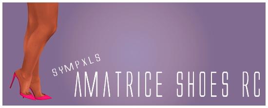 Simsworkshop: Sympxls Amatrice Shoes