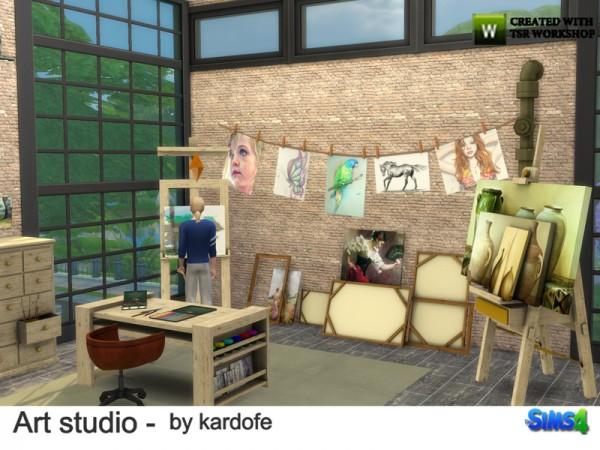 The Sims Resource: Art Studio by Kardofe