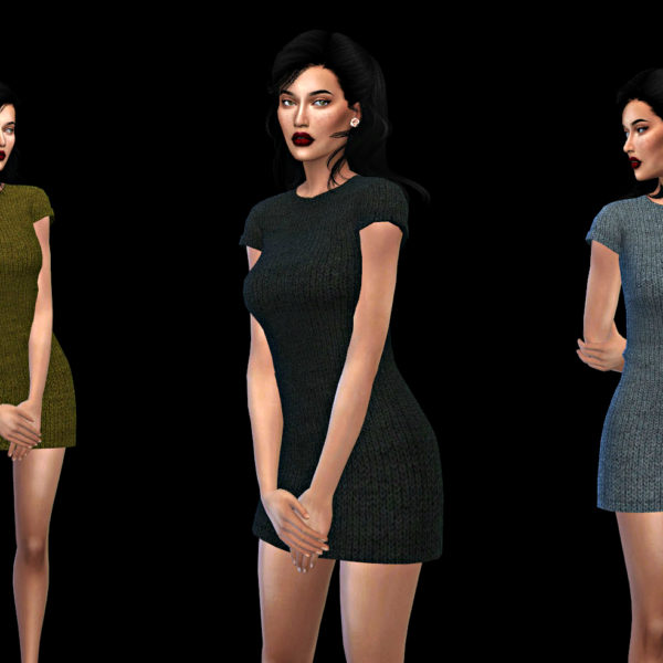 Leo 4 Sims: Fran dress