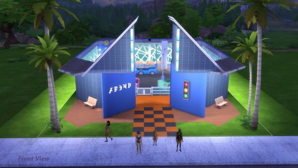 Mod The Sims: Bump O Rama Bumper Cars by Snowhaze
