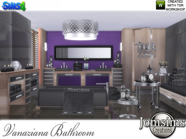 The Sims Resource: Vanaziana bathroom by jomsims