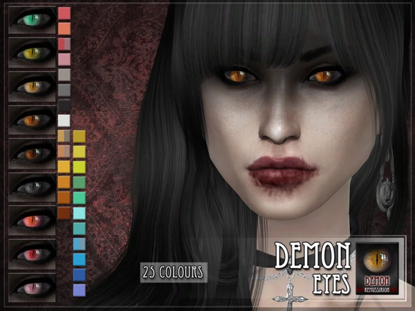 The Sims Resource: Demon Eyes by RemusSirion