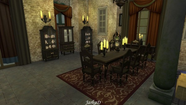 JarkaD Sims 4: Vampire Mansion