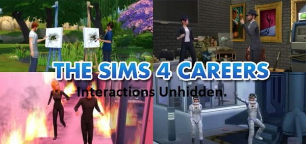 Mod The Sims: Career interactions unhidden by Manderz0630