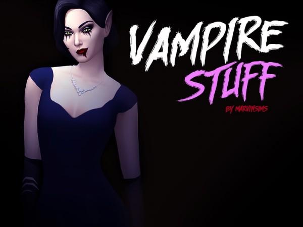 Marvin Sims: Vampire Stuff
