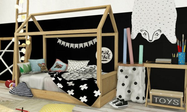 MXIMS: Bambooko Toddlers Bed and Blanket