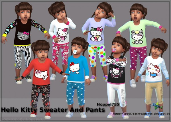 Hoppel785: Hello Kitty Sweater And Pants