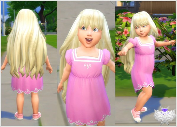 Astonishing David Sims Princess Hair For Toddlers Sims 4 Downloads Hairstyle Inspiration Daily Dogsangcom