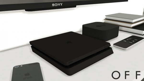 MXIMS: PlayStation 4 Slim Functional