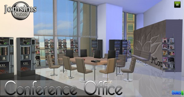 Jom Sims Creations: Conférence office