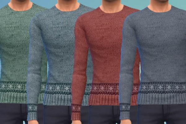 Blackys Sims 4 Zoo: Sweatshirts Meliert by mammut