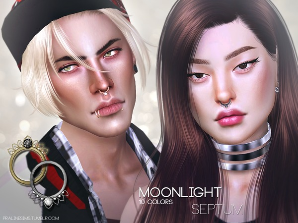 The Sims Resource: Moonlight Septum by Pralinesims