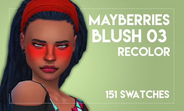 Simsworkshop: Mayberries Blush 03 Recolored by Weepingsimmer
