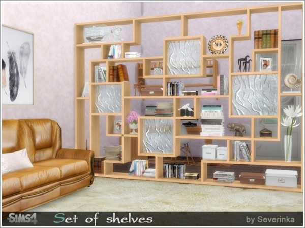 The Sims Resource: Set of shelves by Severinka
