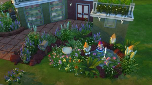 La Luna Rossa Sims: Playful Basegame Home
