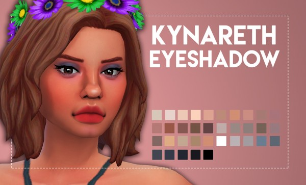 Simsworkshop: Kynareth Eyeshadow by Weepingsimmer
