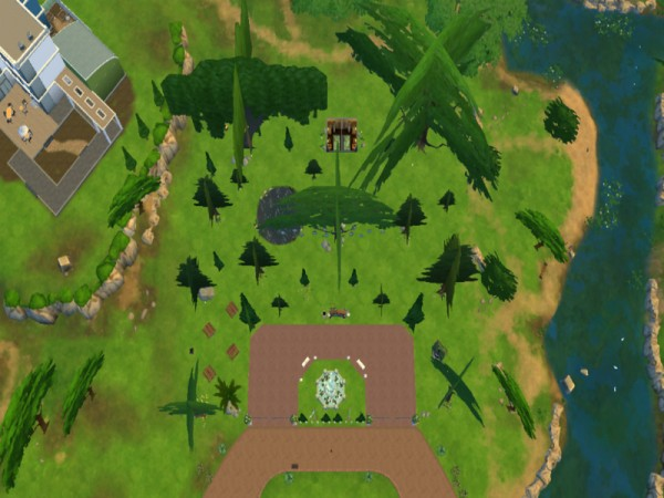 The Sims Resource: Park National by Queen Bruk