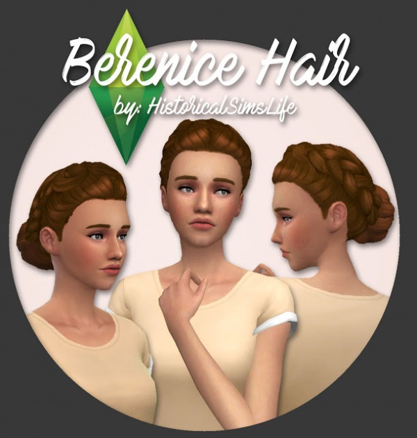History Lovers Sims Blog: Berenice Hair