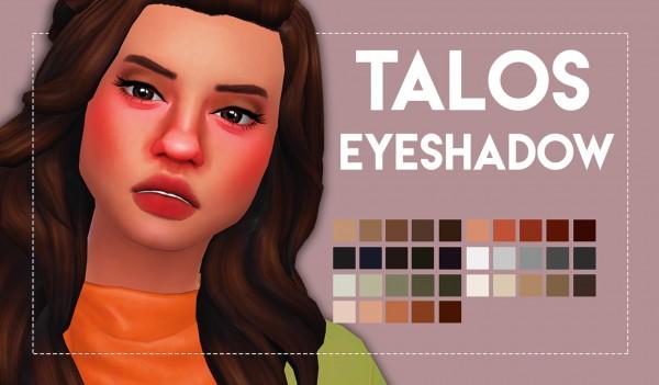 Simsworkshop: Talos Eyeshadow by Weepingsimmer