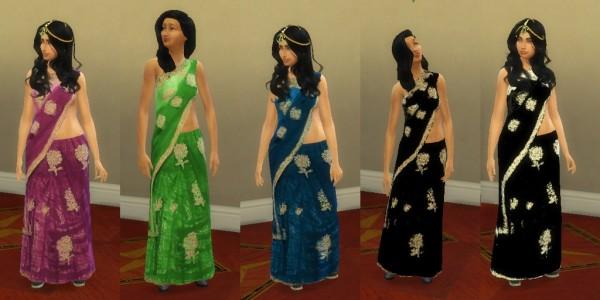 Simsworkshop: Indian Sari by Leniad