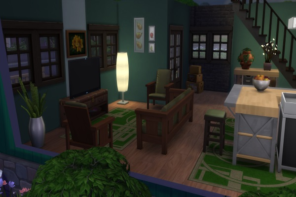 Blackys Sims 4 Zoo: Small country house by Dschungelkatze