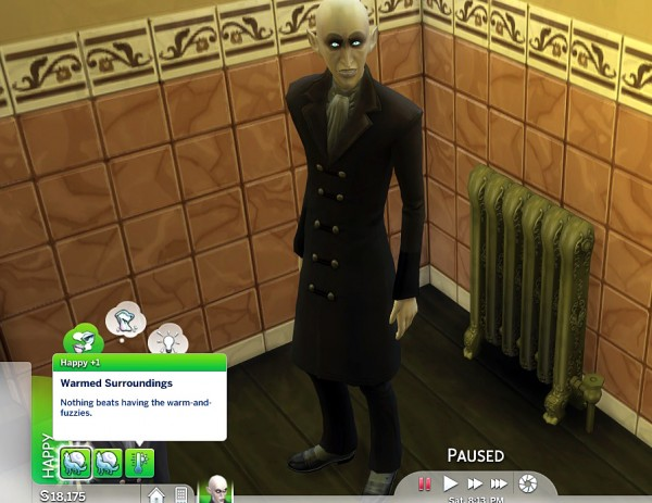 Mod The Sims: Functional Radiator by K9DB
