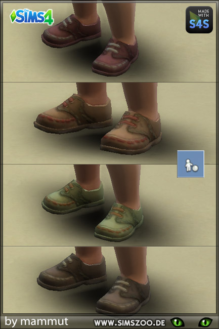 Blackys Sims 4 Zoo: Toddler shoes 1
