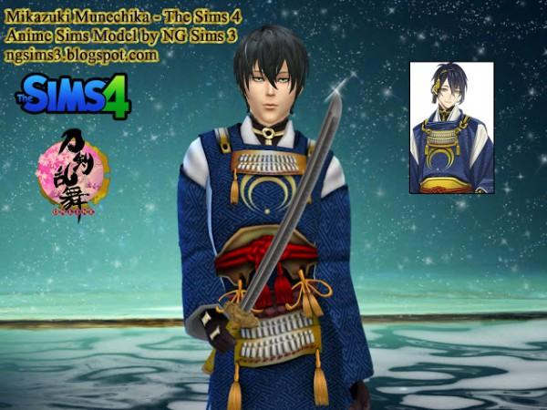 NG Sims 3: Mikazuki Munechika