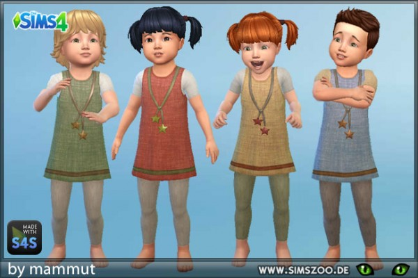 Blackys Sims 4 Zoo: Toddlers outfit 1 by mammut