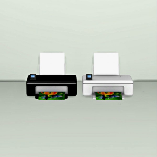 Leo 4 Sims: Printer Deco