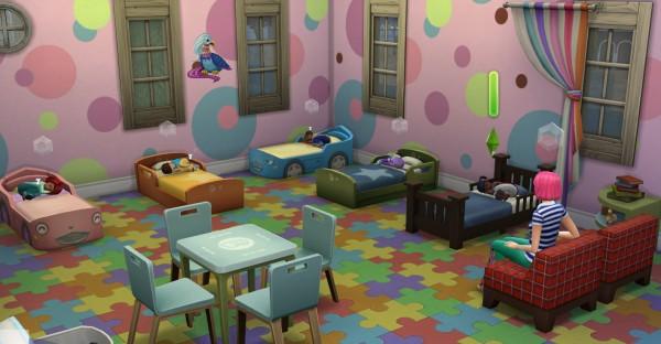 Mod The Sims Havisham House Day Care By Porkypine Sims