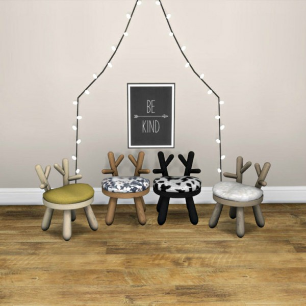 Leo 4 Sims: Toddler Bambi Chair