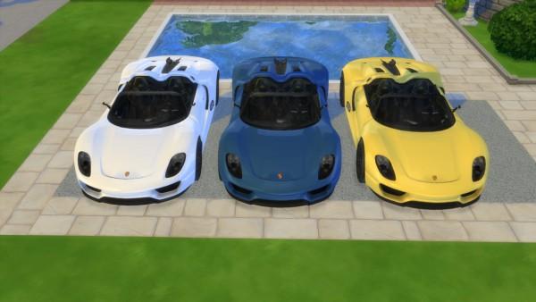 Lory Sims: Porsche 918 Spyder Concept