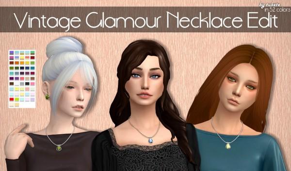 Tukete: Vintage Glamour necklace