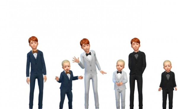Simsworkshop: Kids Suit up!