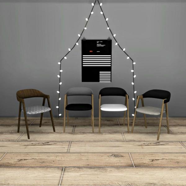 Leo 4 Sims: Wegner Chair