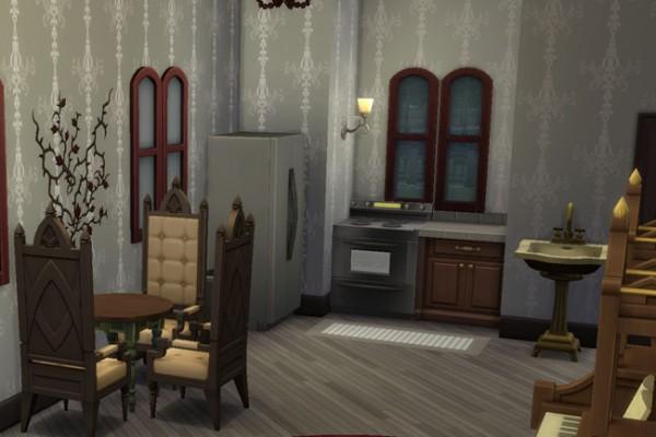 Blackys Sims 4 Zoo Bare Vampire Villa By Mammut Sims 4