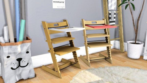 Mxims Stokke Tripp Trapp High Chair Sims 4 Downloads