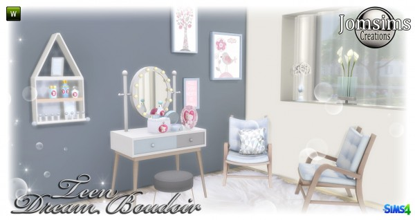 Jom Sims Creations: Dream boudoir