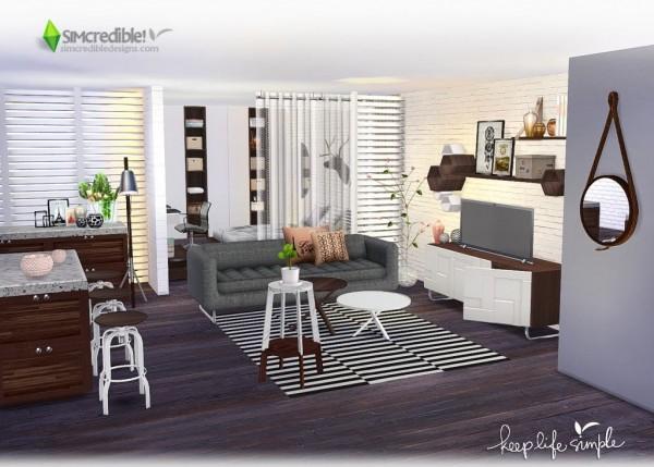 SIMcredible Designs: Keep Life Simple livingroom