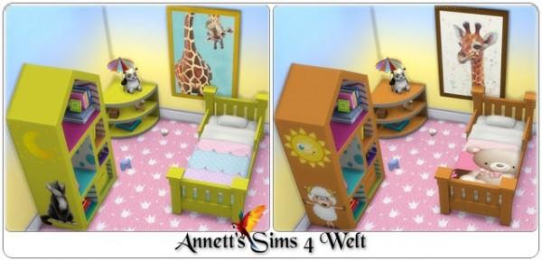 Annett`s Sims 4 Welt: Toddlers Bedroom Funny