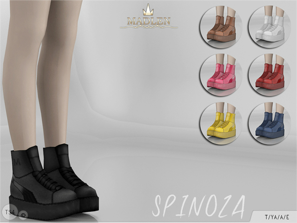 The Sims Resource: Madlen Spinoza Shoes by MJ95