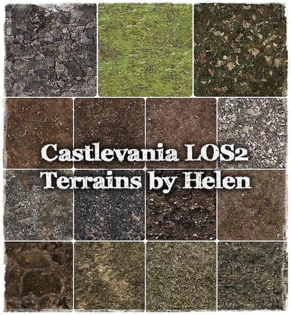 Helen Sims: Castlevania LOS2 Terrains