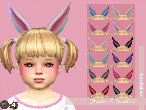 Studio K Creation: Rabbit ears for toddler