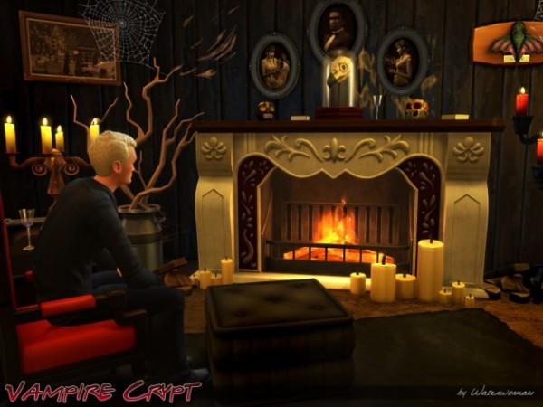 Akisima Sims Blog Vampire Crypt Sims 4 Downloads