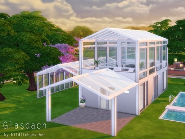 Akisima Sims Blog: Glass roof