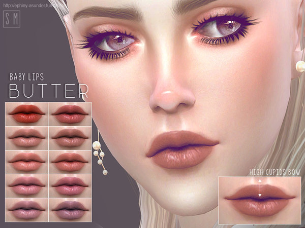 The Sims Resource: Butter   Baby Lips by Screaming Mustard