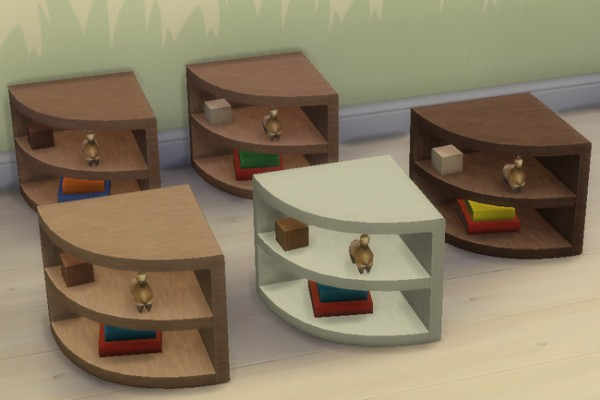 Blackys Sims 4 Zoo: Toddlers Wood 1 by mammut